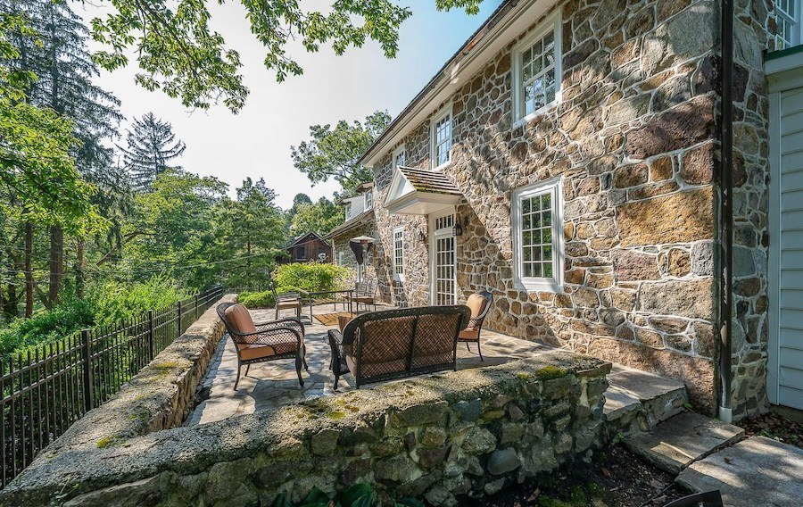 house for sale chester springs colonial manor side terrace