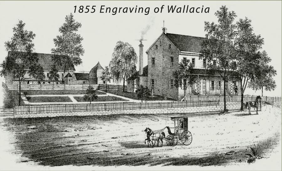 house for sale historic east earl farmhouse 1855 engraving