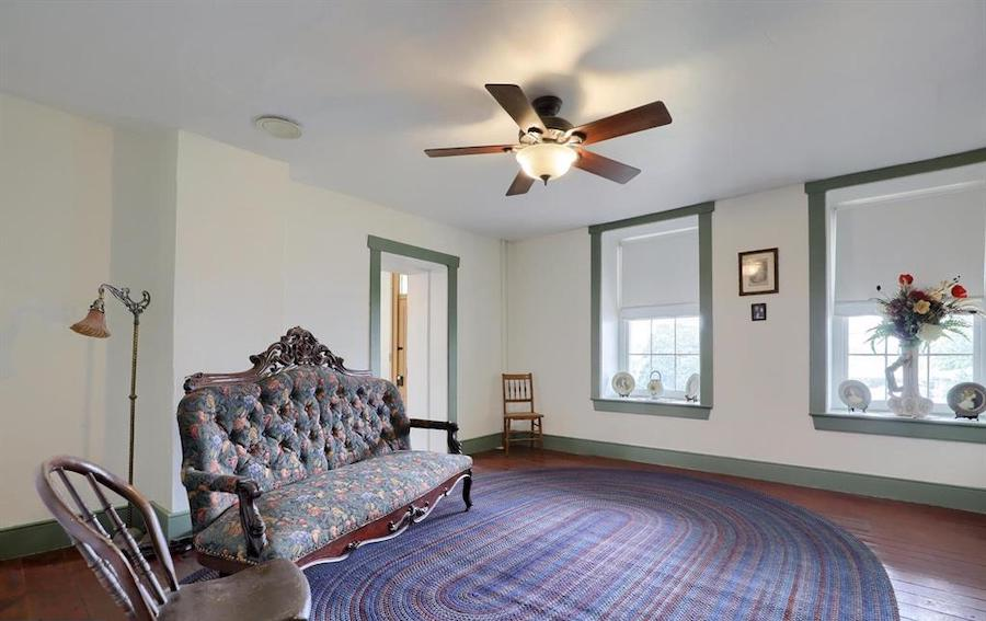 living room, 1761 wing
