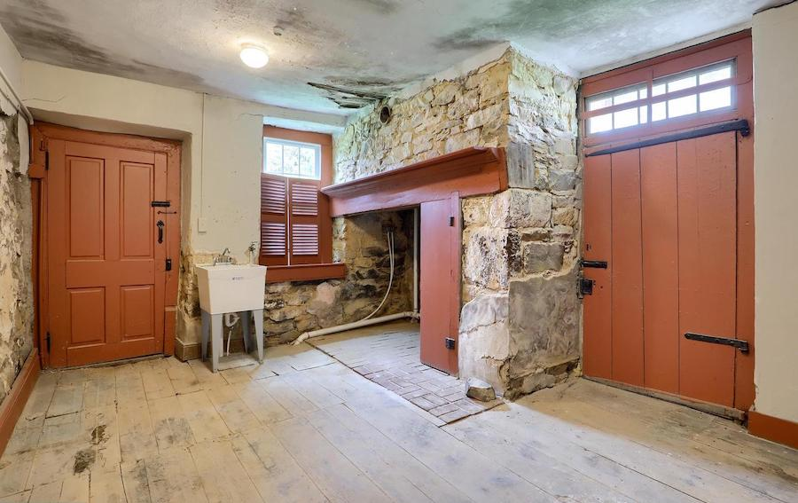 house for sale historic east earl farmhouse 1755 wing main living space