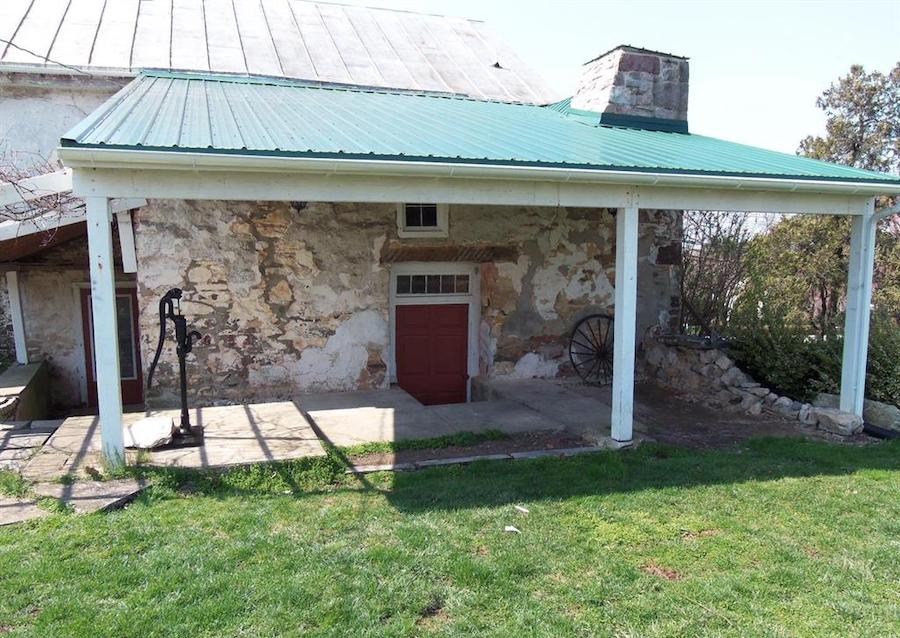 house for sale historic east earl farmhouse exterior 1755 wing
