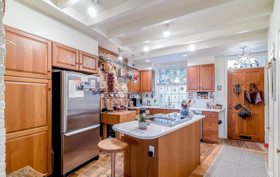 house for sale fitler square double trinity kitchen