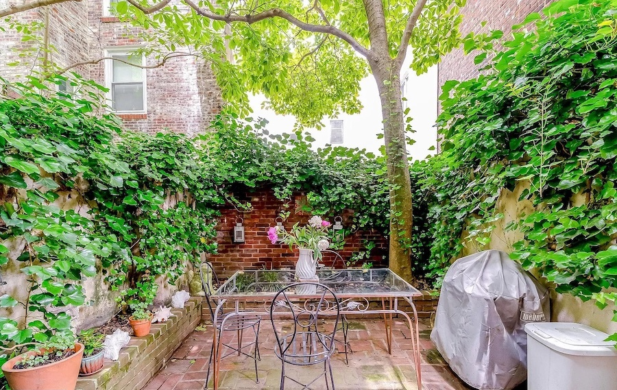 house for sale fitler square double trinity rear patio