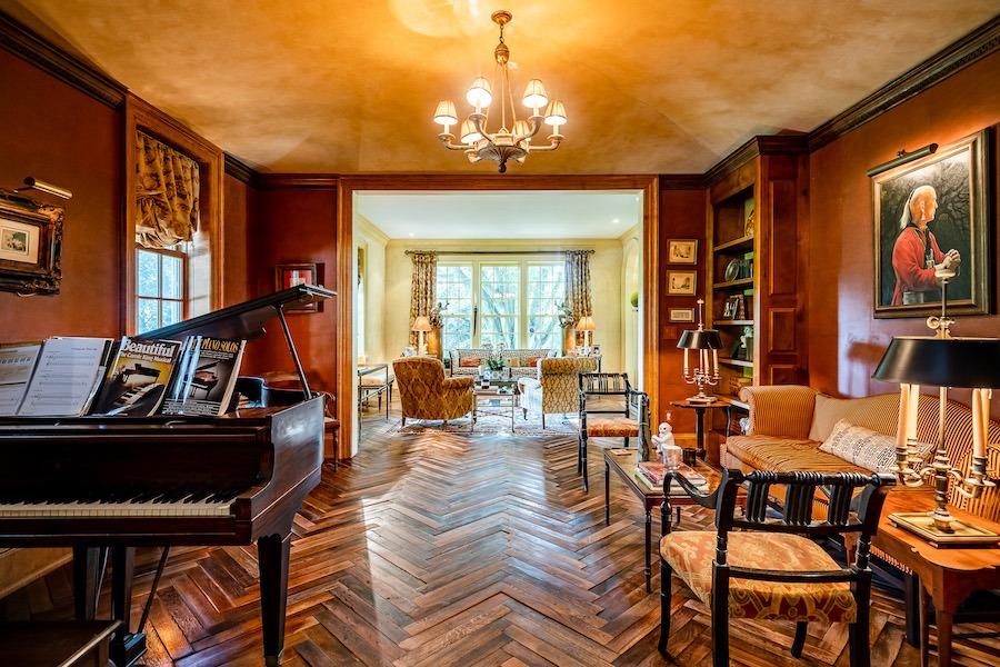 house for sale kennett square horse farm music room