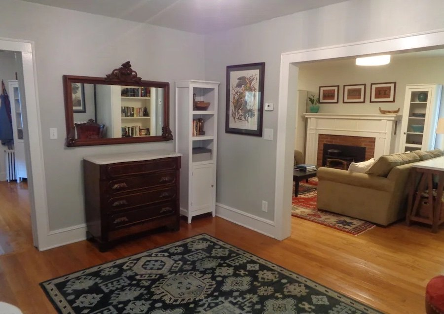 house for sale milford foursquare foyer