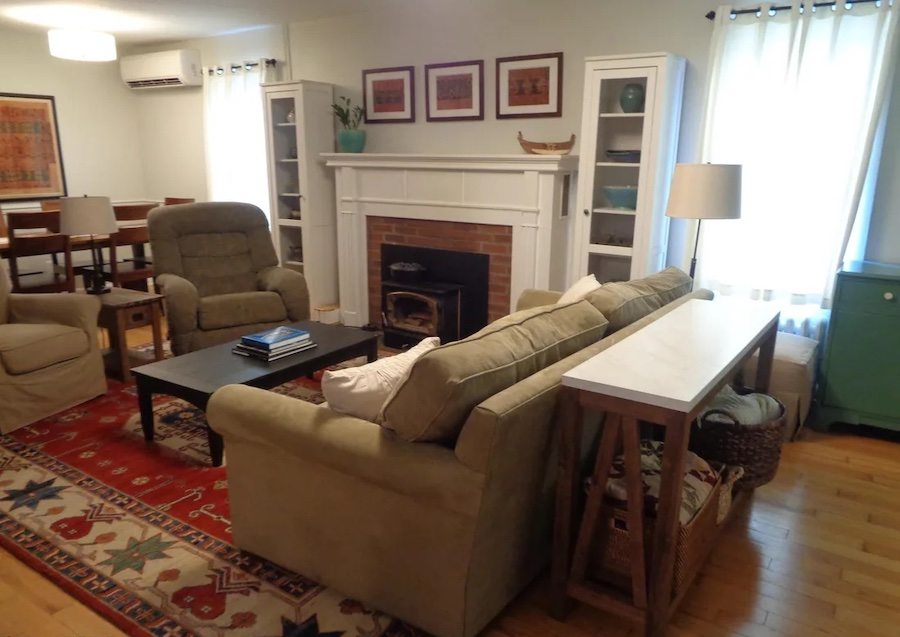 house for sale milford foursquare living-dining room
