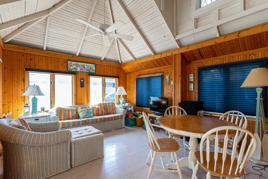 house for sale stone harbor cottage living room
