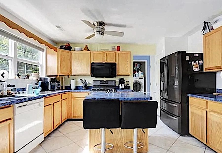 house for sale ventnor neotraditional townhouse kitchen