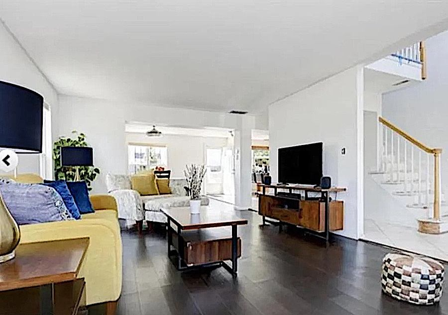 house for sale ventnor neotraditional townhouse living room