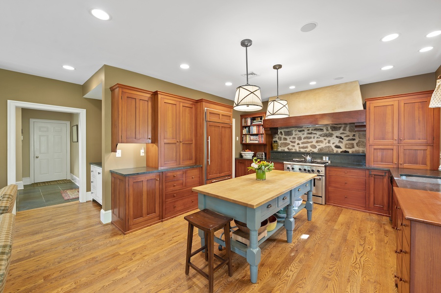 house for sale updated st. davids colonial kitchen