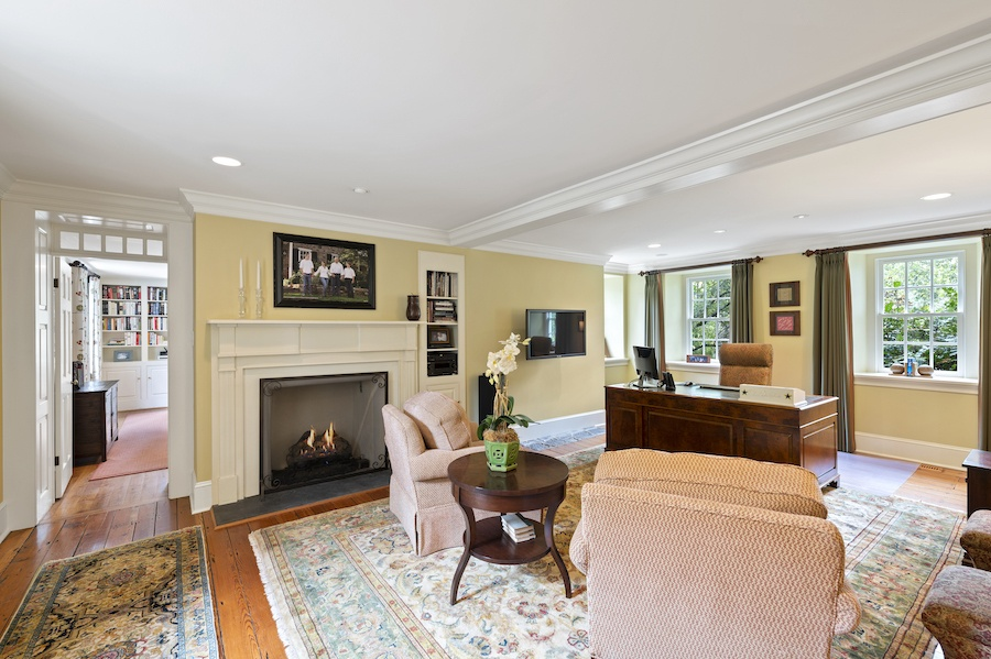 house for sale updated st. davids colonial living room