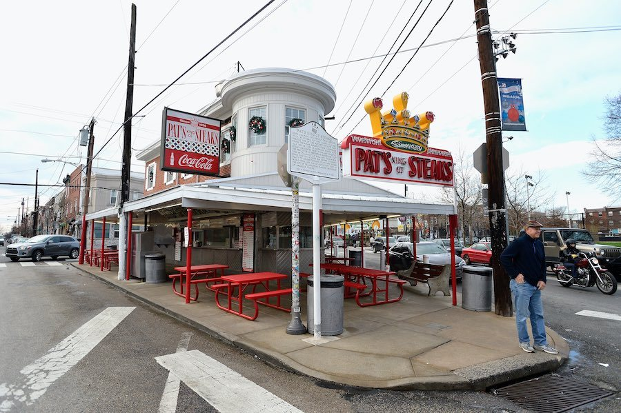 South Philadelphia cheesesteak shop pat's steaks, the site of two recent murders