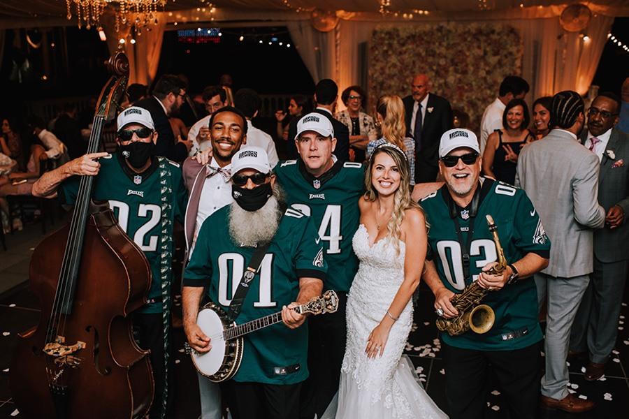 Eagles pep band