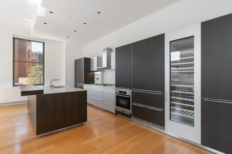 condo for sale Washington Square modern condo kitchen