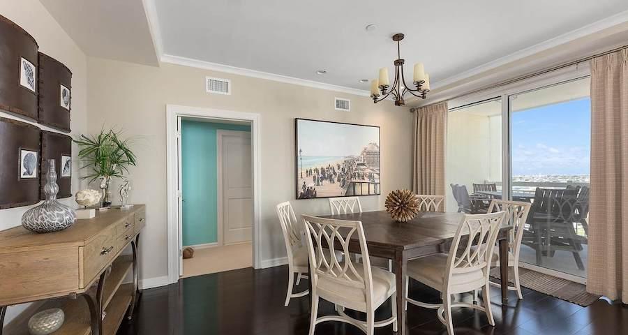 condo for sale diamond beach high-rise dining room
