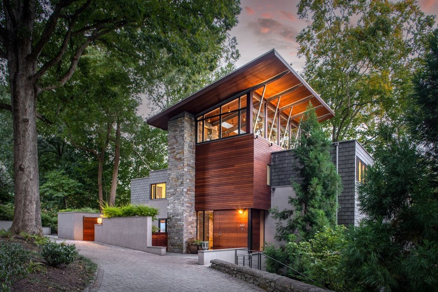 house for sale chestnut hill modern exterior front