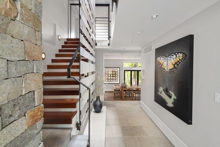 house for sale chestnut hill modern foyer