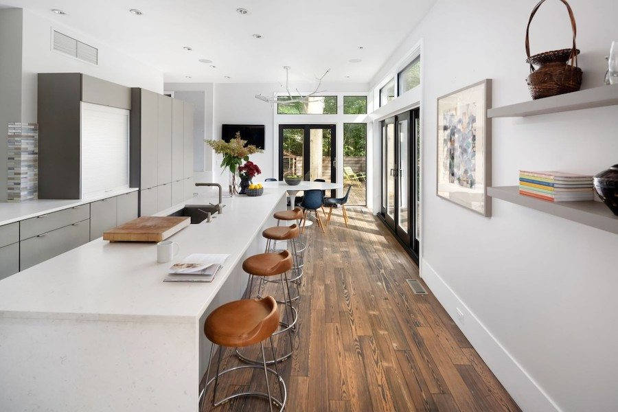 house for sale chestnut hill modern kitchen and breakfast room