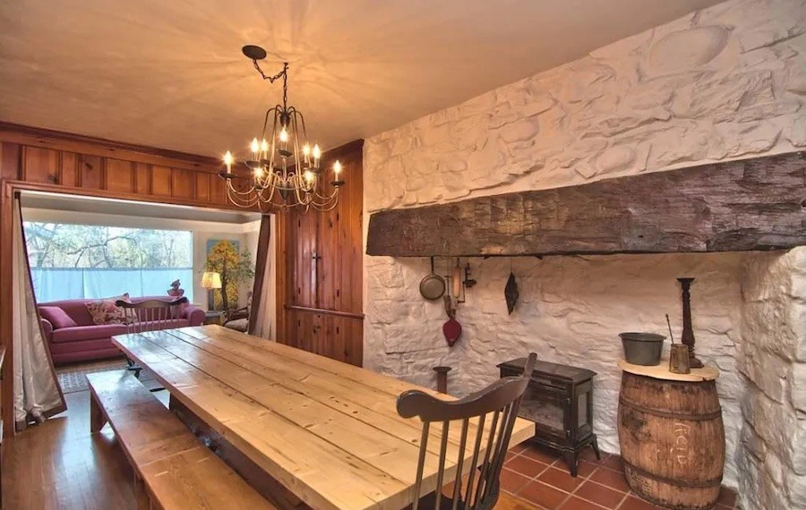 house for sale historic marshalls creek guest house dining room
