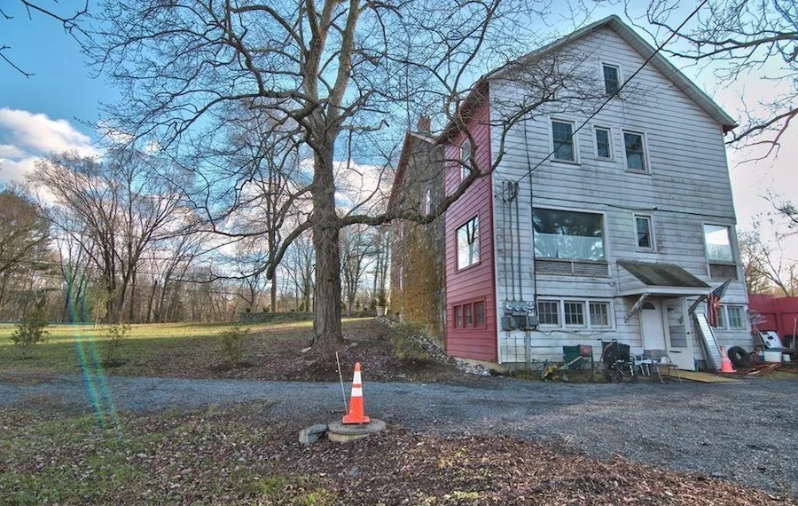 house for sale historic marshalls creek guest house exterior rear
