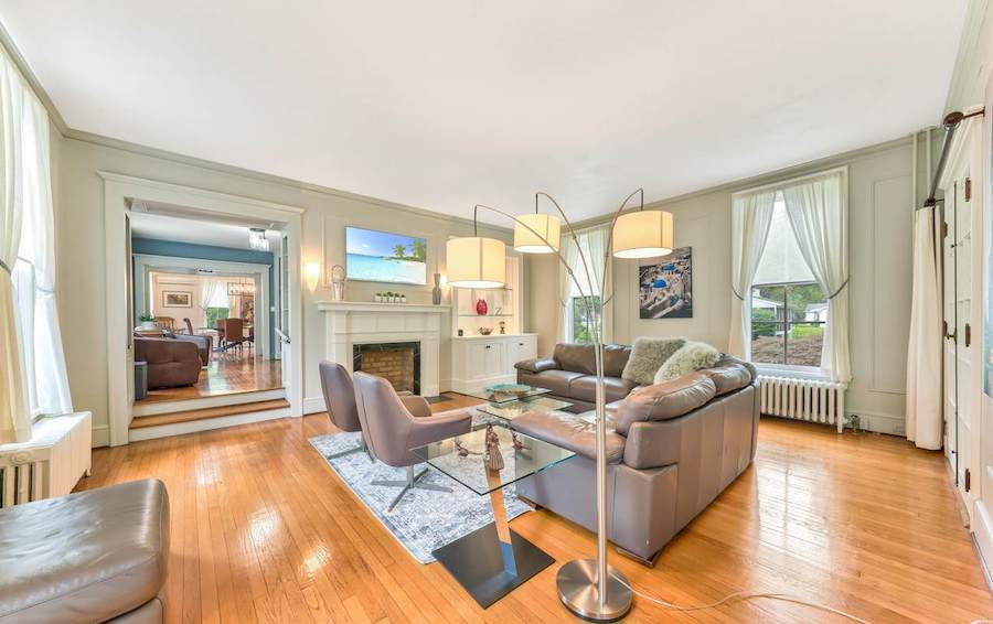 house for sale milford colonial family room