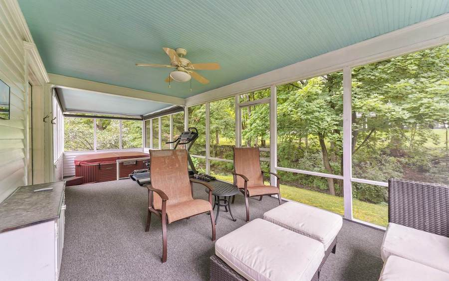 house for sale milford colonial side porch