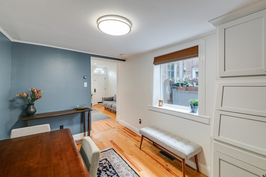 house for sale queen village renovated trinity dining room