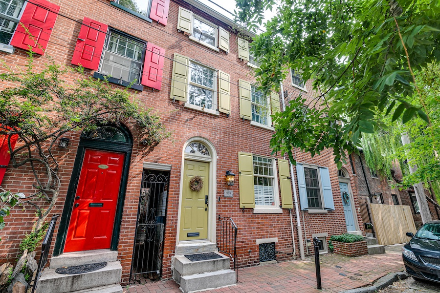 house for sale queen village renovated trinity exterior front