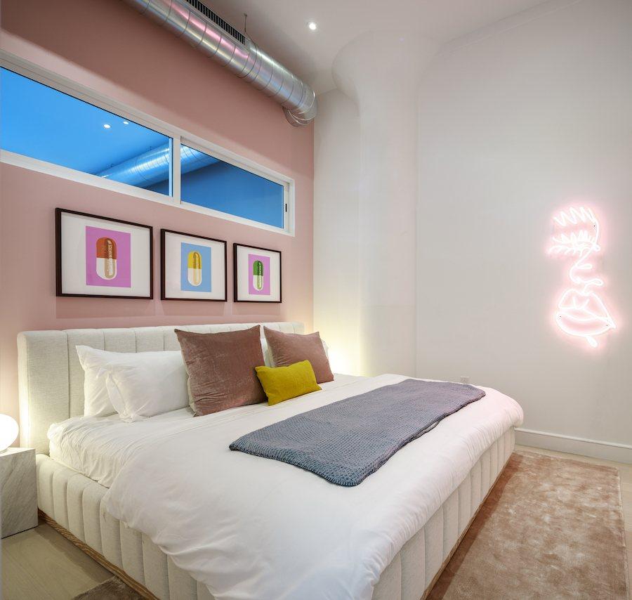 model 4br unit bedroom